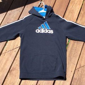 Navy blue Adidas sweatshirt